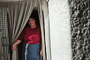 Anna Serafina Longo, 40enne orsarese, assiste la madre anziana, Orsara di Puglia 3 Maggio 2014.  Christian Mantuano / OneShot