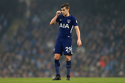 16th December 2017 - Premier League - Manchester City v Tottenham Hotspur - Harry Winks of Spurs looks dejected - Photo: Simon Stacpoole / Offside.