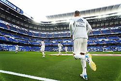 November 3, 2018 - Madrid, Madrid, Spain - Toni Kroos (Real Madrid) seen warming up before the La Liga match between Real Madrid and Real Valladolid at the Estadio Santiago Bernabéu..Final score Real Madrid 2-0 Valladolid. (Credit Image: © Manu Reino/SOPA Images via ZUMA Wire)