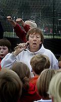 BLOEMENDAAL - Ted van Doorn , jeugdtrainer Bloemendaal,  FOTO KOEN SUYK