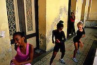 Cuba, Santiago de Cuba, École de danse, Casa de los estudiantes // Cuba, Santiago de Cuba, Salsa school, Student house