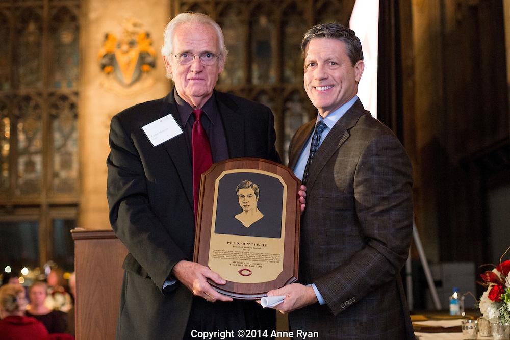 UChicago Athletics Hall of Fame induction ceremony at The University Club