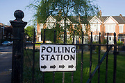 London 7th May 2015: Britons go to the polls today in a general election predicted to be the closest for decades as no single party is expected to secure a majority. Richard Bakert / Alamy Live News.