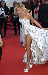 Hailey Baldwin attending the premiere of The Biguiled held at The Grand Theatre during the 70th Cannes Film Festival in France. Photo Credit should read: Doug Peters/EMPICS Entertainment
