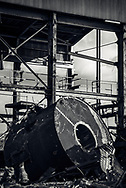 Old sugar mill being taken apart in Maui, Hawaii. ©CiroCoelho.com. All Rights Reserved.