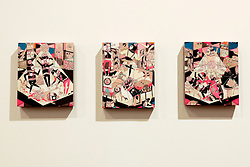 Kill Pixie, from left : Untitled 2, 2008 ; A Ok, 2008; Untitled 1, 2008