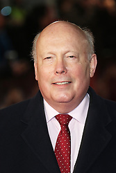 Julian Fellowes, Pride And Prejudice And Zombies - European Film Premiere,  Leicester Square, London UK, 1 February 2016, Photo by Richard Goldschmidt /LNP © London News Pictures