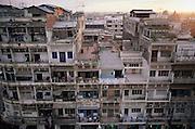 Phnom Penh, Cambodia apartment building on Monivong Boulevard.
