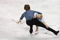 KELOWNA, BC - OCTOBER 26:  Evgenia Tarasova and Vladimir Morozov of Russia competes in pairs free skate during Skate Canada International at Prospera Place on October 25, 2019 in Kelowna, Canada. (Photo by Marissa Baecker/Shoot the Breeze)