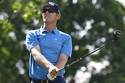 May 2, 2019 - Charlotte, NC, U.S. - CHARLOTTE, NC - MAY 02: Seamus Power watches his drive from the 15th tee during the first round of the Wells Fargo Championship at Quail Hollow on May 2, 2019 in Charlotte, NC. (Photo by William Howard/Icon Sportswire) (Credit Image: © William Howard/Icon SMI via ZUMA Press)