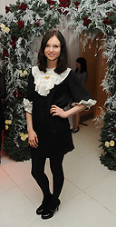 SOPHIE ELLIS-BEXTOR at the launch of the English National Ballet's Christmas season 2009 held at the St.Martin;s Lane Hotel, London on 15th December 2009.