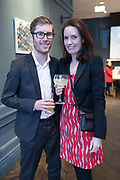 NO FEE PICTURES<br /> 12/4/18 Tadhg Whelan, Kildare and Sarah Lawn , Churchtown at the launch of Jenny Huston and Leah Hewson's jewellery and fine art collaboration, Edge Only x Leah Hewson at The Dean Dublin. Arthur Carron