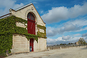 winery building chateau la garde pessac leognan graves bordeaux france