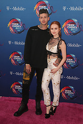 FOX's Teen Choice Awards 2018 at The Forum in Inglewood. California on August 12, 2018. CAP/MPIFS ©MPIFS/Capital Pictures. 12 Aug 2018 Pictured: Madelaine Petsch, Travis Mills. Photo credit: MPIFS/Capital Pictures / MEGA TheMegaAgency.com +1 888 505 6342