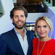 NLD/Amsterdam/20130826 - Nederlandse premiere film Borgman, Hannah Verboom en partner