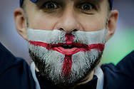 Fan of England during the 2018 FIFA World Cup Russia, semi-final football match between Croatia and England on July 11, 2018 at Luzhniki Stadium in Moscow, Russia - Photo Thiago Bernardes / FramePhoto / ProSportsImages / DPPI