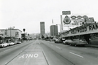1976 Looking north on Vine St. from Lexington Ave.