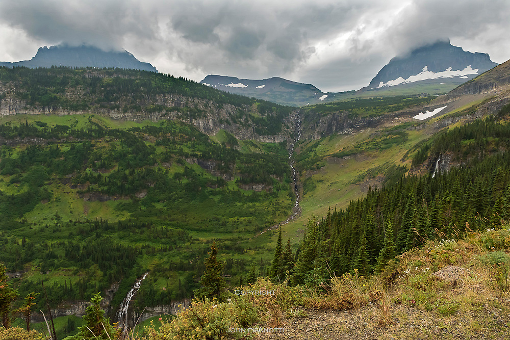 Approaching Logan Pass from the East, Glacier National Park
