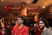 Spain v Holland, World Cup Final at Centro Galego de Londres, Willesden Junction.<br /> <br /> Copyright: Jonathan Goldberg