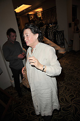 FAY MASCHLER at the Tatler Restaurant Awards 2011 held at the Langham Hotel, Portland Place, London on 9th May 2011.
