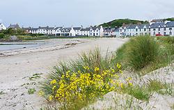 View of Port Ellen on Islay in Inner Hebrides , Scotland, UK