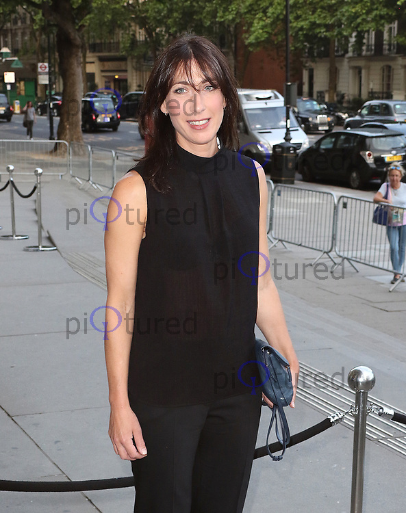 Samantha Cameron, V&A Summer Party, Victoria & Albert Museum, London UK, 21 June 2017, Photo by Richard Goldschmidt