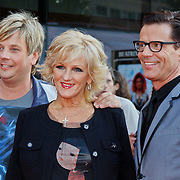 NLD/Utrecht/20100903 - Premiere Queen musical We Will Rock You, Tineke Schouten en Theo Hopman