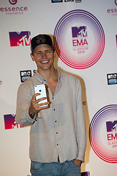 Jerone Jarre, backstage at the winners room at the MTV EMA's 2014, Glasgow, Scotland