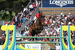 Etter-Pellegrin Marie, (SUI), Admirable<br /> Furusiyya FEI Nations Cup presented by Longines<br /> Longines Jumping International de La Baule 2015<br /> © Hippo Foto - Dirk Caremans<br /> 15/05/15