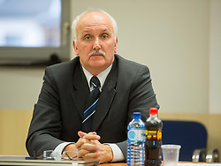 Janez Vodicar during meeting of Executive Committee of Ski Association of Slovenia (SZS) on March 10, 2014 in SZS, Ljubljana, Slovenia. Photo by Vid Ponikvar / Sportida