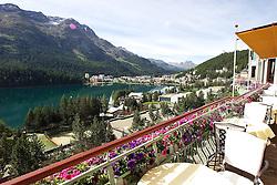Badrutt's Palace. St Moritz Match Race 2010. World Match Racing Tour. St Moritz, Switzerland. 2nd September 2010. Photo: Ian Roman/WMRT.