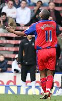 Photo: Alex Pelaez.<br /> Crystal Palace v Luton Town. Coca Cola Championship. 24/02/2007.<br /> Morrison of Palace