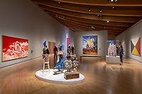 BENTONVILLE, AR - FEBRUARY 15:  1940 to Now Gallery of Contemporary Art at Crystal Bridges Museum of American Art in Bentonville, Arkansas.<br /> CREDIT Wesley Hitt for The Wall Street Journal<br /> WALMART-Bentonville Scene-setters