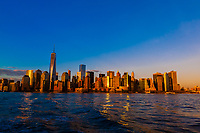 Skyline, Lower Manhattan, New York, New York USA.