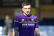 Portrait of Norwich City forward Jordan Hugill  (9) during the EFL Sky Bet Championship match between Wycombe Wanderers and Norwich City at Adams Park, High Wycombe, England on 28 February 2021.