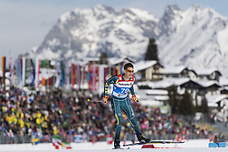 February 21, 2019 - Seefeld In Tirol, AUSTRIA - 190221 Mark Pollock of Australia competes in men's cross-country skiing sprint qualification during the FIS Nordic World Ski Championships on February 21, 2019 in Seefeld in Tirol..Photo: Joel Marklund / BILDBYRÃ…N / kod JM / 87880 (Credit Image: © Joel Marklund/Bildbyran via ZUMA Press)