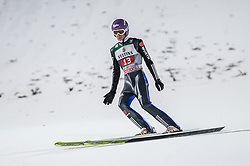 27.12.2016, Schattenbergschanze, Oberstdorf, GER, FIS Weltcup Ski Sprung, Vierschanzentournee, Oberstdorf, Wertungsdurchgang, im Bild Andreas Welllinger (GER) // Andreas Welllinger of Germany during his Competition Jump for the Four Hills Tournament of FIS Ski Jumping World Cup at the Schattenbergschanze in Oberstdorf, Germany on 2016/12/27. EXPA Pictures © 2016, PhotoCredit: EXPA/ Peter Rinderer