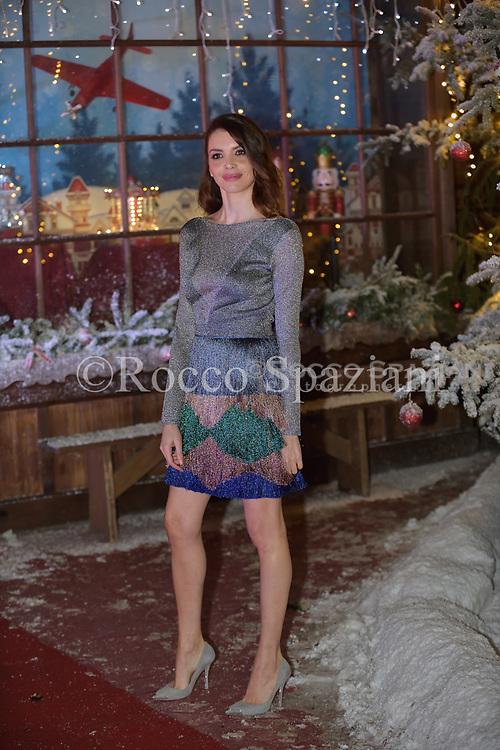 Ilenia Pastorelli Super Vacanze di Natale premiere, Red carpet, Rome, Italy - 12 Dec 2017