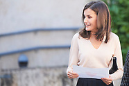 100319 Queen Letizia attends Opening of the 14th International Seminar on Language and Journalism