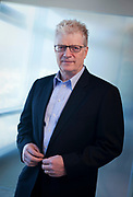 Portrait of speaker and author Sir Ken Robinson.
