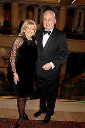 MARTIN LEWIS and PATSY BAKER at a Gala dinner in aid of Chickenshed held at the Guildhall, City of London on 29th October 2007.<br /><br />NON EXCLUSIVE - WORLD RIGHTS