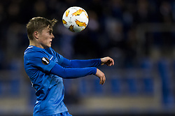 November 8, 2018 - Genk, BELGIUM - Genk's Jere Uronen pictured in action during a match between Belgian soccer team KRC Genk and Turkish club Besiktas, in Genk, Thursday 08 November 2018 on day four of the UEFA Europa League group stage, in group I. BELGA PHOTO JASPER JACOBS (Credit Image: © Jasper Jacobs/Belga via ZUMA Press)