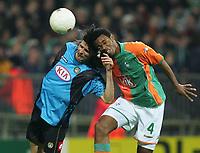 v.l. Vincenzo Iaquinta , Naldo Bremen<br /> Champions League SV Werder Bremen - Udinese Calcio<br /> Norway only