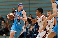 Basket<br /> 3. Oktober 2015<br /> BLNO<br /> Åpningshelg<br /> Haukelandshallen<br /> Bærum - Eidsvoll<br /> Mike Bruesewitz (L) , Bærum<br /> Zak Celeste (M) og Rune Jørgensen (R) , Eidsvoll<br /> Foto: Astrid M. Nordhaug