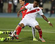 Copa America Chile 2015. Semifinal. Santiago. Estadio Nacional. 29 de Junio de 2015. Chile vs Peru.