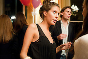 JEMMA JONES; EDWARD HOLCROFT, Kate Reardon and Michael Roberts host a party to celebrate the launch of Vanity Fair on Couture. The Ballroom, Moet Hennessy, 13 Grosvenor Crescent. London. 27 October 2010. -DO NOT ARCHIVE-© Copyright Photograph by Dafydd Jones. 248 Clapham Rd. London SW9 0PZ. Tel 0207 820 0771. www.dafjones.com.