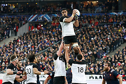 New Zealand's Jerome Kaino during autumn rugby test match France v New Zealand at the Stade de France in St-Denis, France, on November 26, 2016. New Zealand won 24-19. Photo by Henri Szwarc/ABACAPRESS.COM