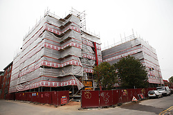 Regeneration in progress at Gamble Mill; Raleigh Street; Nottingham,
