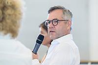 24 JUN 2019, BERLIN/GERMANY:<br /> Michael Roth, MdB, Staatsminister für Europa im Auswärtigen Amt, Wirtschaftsforum der SPD, Arbeitssitzung des Fachforums Europa und Außenwirtschaft, Hauptstadtrepräsentanz von Telefónica<br /> IMAGE: 20190724-01-049