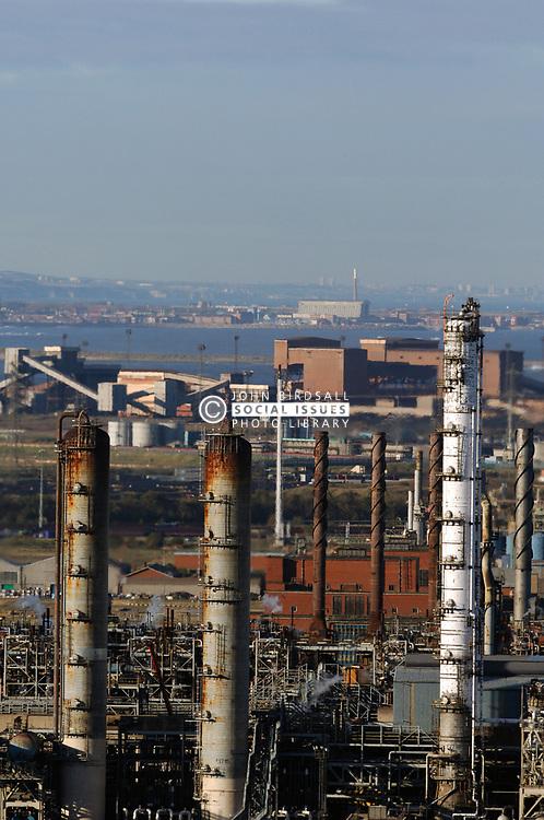 Industrial area Teesside UK